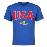 CONCACAF Gold Cup 2015 USA Youth Big Logo T-Shirt (Royal)