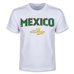 CONCACAF Gold Cup 2015 Mexico Youth Big Logo T-Shirt (White)