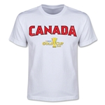 CONCACAF Gold Cup 2015 Canada Youth Big Logo T-Shirt (White)