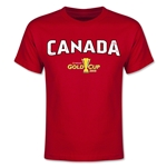 CONCACAF Gold Cup 2015 Canada Youth Big Logo T-Shirt (Red)