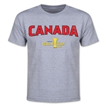 CONCACAF Gold Cup 2015 Canada Youth Big Logo T-Shirt (Grey)
