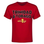 CONCACAF Gold Cup 2015 Trinidad & Tobago Youth Big Logo T-Shirt (Red)