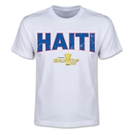 CONCACAF Gold Cup 2015 Haiti Youth Big Logo T-Shirt (White)