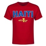 CONCACAF Gold Cup 2015 Haiti Youth Big Logo T-Shirt (Red)