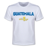 CONCACAF Gold Cup 2015 Guatemala Youth Big Logo T-Shirt (White)