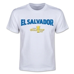 CONCACAF Gold Cup 2015 El Salvador Youth Big Logo T-Shirt (White)