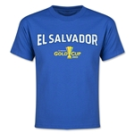 CONCACAF Gold Cup 2015 El Salvador Youth Big Logo T-Shirt (Royal)