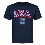 USA CONCACAF 2015 Men's Olympic Qualifying Youth T-Shirt (Navy)