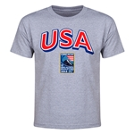 USA CONCACAF 2015 Men's Olympic Qualifying Youth T-Shirt (Gray)