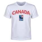 Canada CONCACAF 2015 Men's Olympic Qualifying Youth T-Shirt (White)