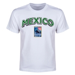 Mexico CONCACAF 2015 Men's Olympic Qualifying Youth T-Shirt (White)