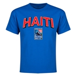 Haiti CONCACAF 2015 Men's Olympic Qualifying Youth T-Shirt (Royal)