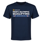 CONCACAF 2015 Men's Olympic Qualifying Youth T-Shirt (Navy)