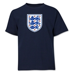 England Core Youth T-Shirt (Navy)