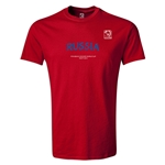 FIFA Beach World Cup 2013 Russia Youth T-Shirt (Red)