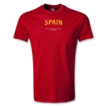 Spain FIFA Beach World Cup 2013 Youth T-Shirt (Red)