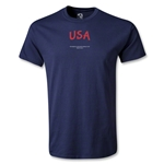 USA FIFA Beach World Cup 2013 Youth T-Shirt (Navy)