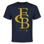 Barcelona Graphic Linked Youth T-Shirt (Navy)