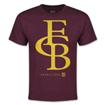 Barcelona Graphic Linked Youth T-Shirt (Maroon)