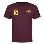 Barcelona Messi Youth T-Shirt (Maroon)