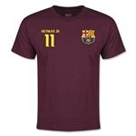 Barcelona Neymar Jr Youth T-Shirt (Maroon)