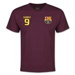 Barcelona Suarez Youth T-Shirt (Maroon)