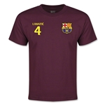 Barcelona Rakitic Youth T-Shirt (Maroon)