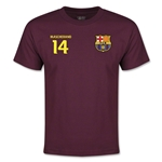 Barcelona Mascherano Youth T-Shirt (Maroon)