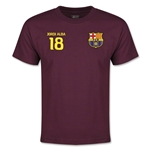 Barcelona Alba Youth T-Shirt (Maroon)