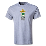 1970 FIFA World Cup Juanito Mascot Youth T-Shirt (Gray)