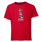 1994 FIFA World Cup Striker Mascot Youth T-Shirt (Red)