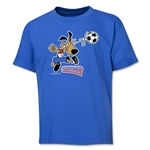 1994 FIFA World Cup Striker Mascot Youth T-Shirt (Royal)