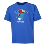 1998 FIFA World Cup Footix Mascot Youth T-Shirt (Royal)