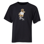 2006 FIFA World Cup Goleo VI Mascot Youth T-Shirt (Black)