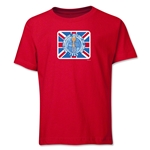 1966 FIFA World Cup Emblem Youth T-Shirt (Red)