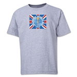 1966 FIFA World Cup Emblem Youth T-Shirt (Grey)