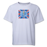 1966 FIFA World Cup Emblem Youth T-Shirt (White)