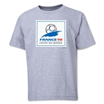 1998 FIFA World Cup Emblem Youth T-Shirt (Grey)
