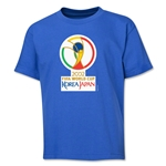 2002 FIFA World Cup Emblem Youth T-Shirt (Royal)