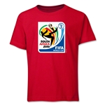 2010 FIFA World Cup Emblem Youth T-Shirt (Red)