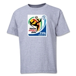 2010 FIFA World Cup Emblem Youth T-Shirt (Grey)