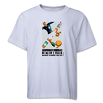 1934 FIFA World Cup Emblem Youth T-Shirt (White)