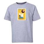 1958 FIFA World Cup Emblem Youth T-Shirt (Grey)