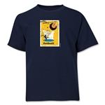 1958 FIFA World Cup Emblem Youth T-Shirt (Navy)