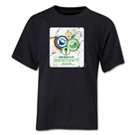 2006 FIFA World Cup Emblem Youth T-Shirt (Black)