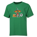 1986 FIFA World Cup Pique Mascot Logo Youth T-Shirt (Green)