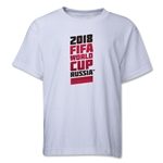 2018 FIFA World Cup Russia(TM) Youth T-Shirt (White)