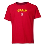 Spain FIFA U-17 Women's World Cup Costa Rica 2014 Youth Core T-Shirt (Red)