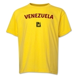 Venezuela FIFA U-17 Women's World Cup Costa Rica 2014 Youth Core T-Shirt (Yellow)