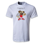 FIFA U-20 World Cup Turkey Youth Mascot T-Shirt (White)